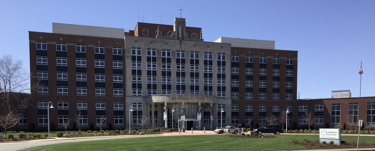 St. Anthony's Memorial Hospital, Effingham, Illinois - April 2018