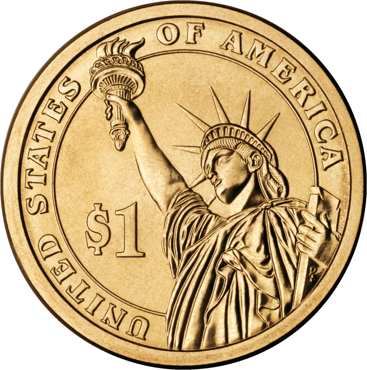 United States Presidential Liberty coin