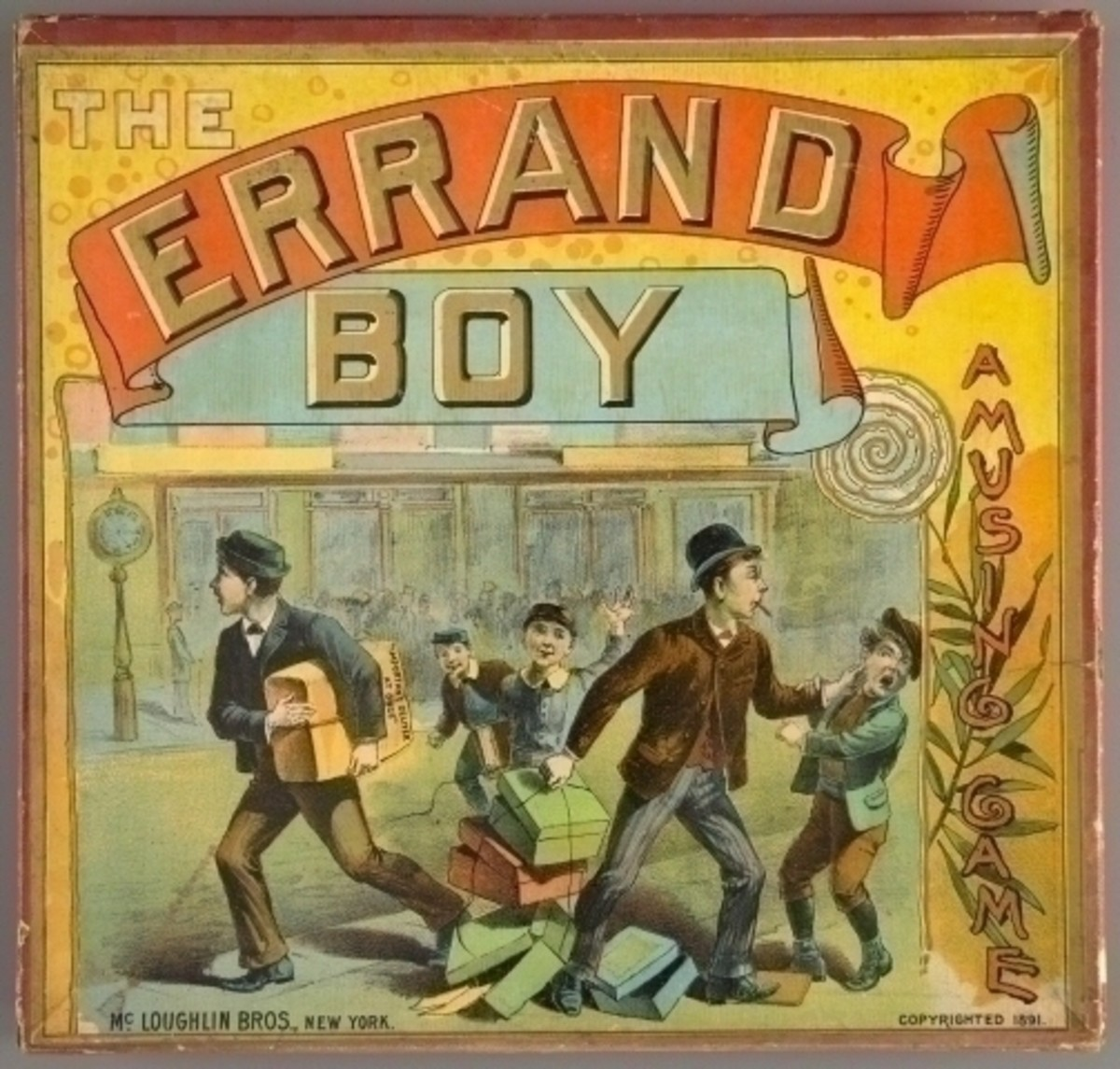 Victorian Errand Boys