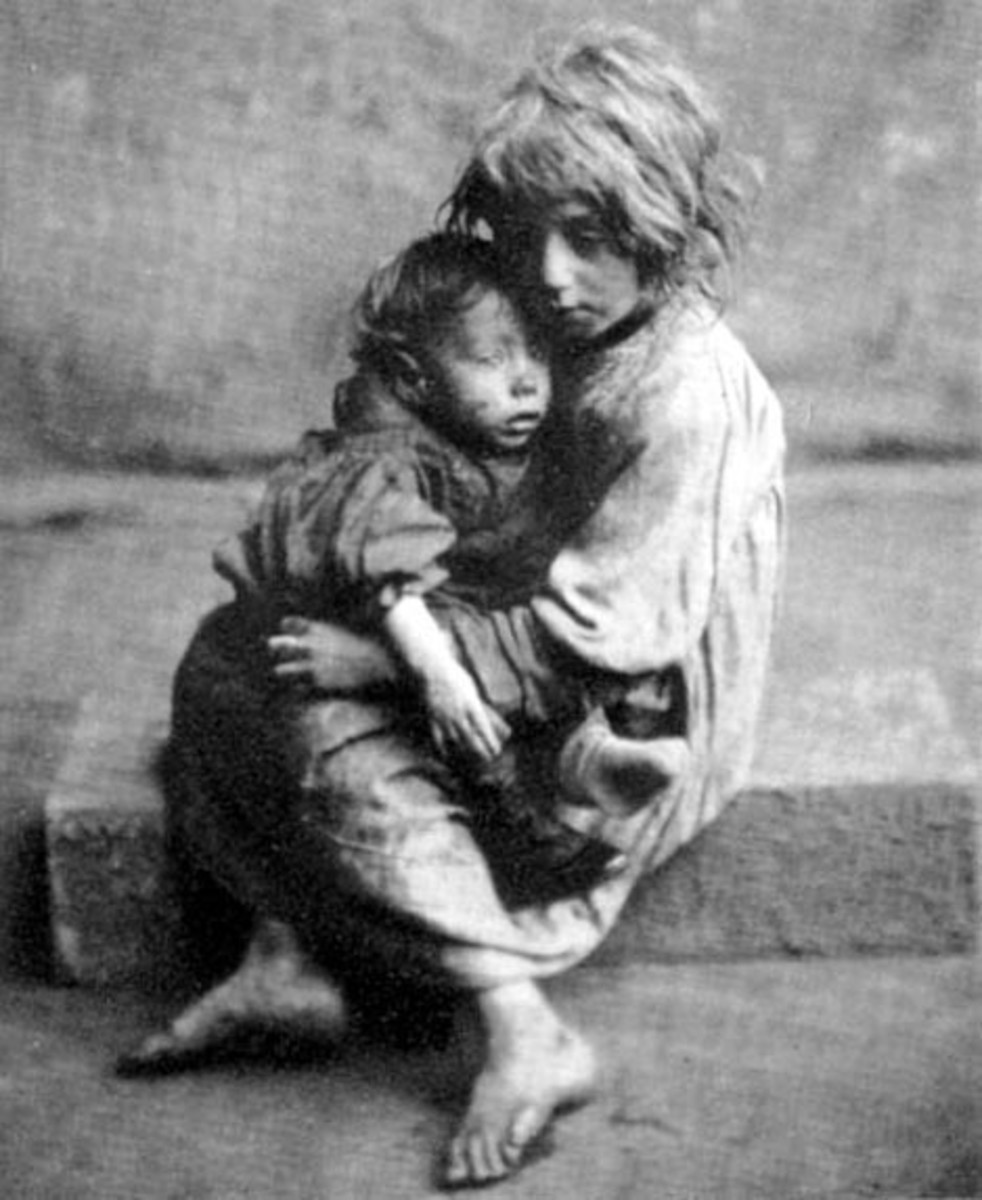 Poor Victorian Children