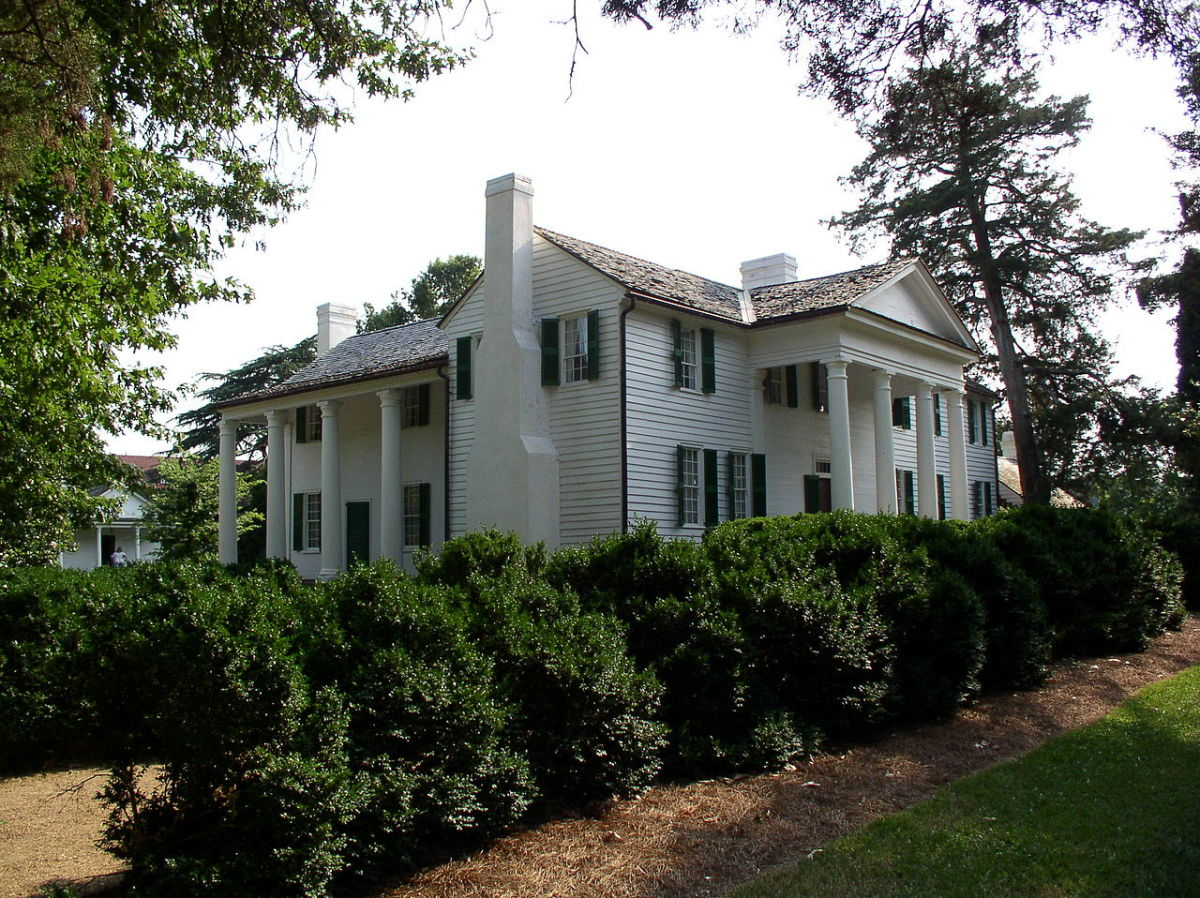 Calhoun's plantation called Fort Hill, South Carolina. The property is now known at the John C. Calhoun Mansion and Library and is a National Historic Landmark on the Clemson University campus.