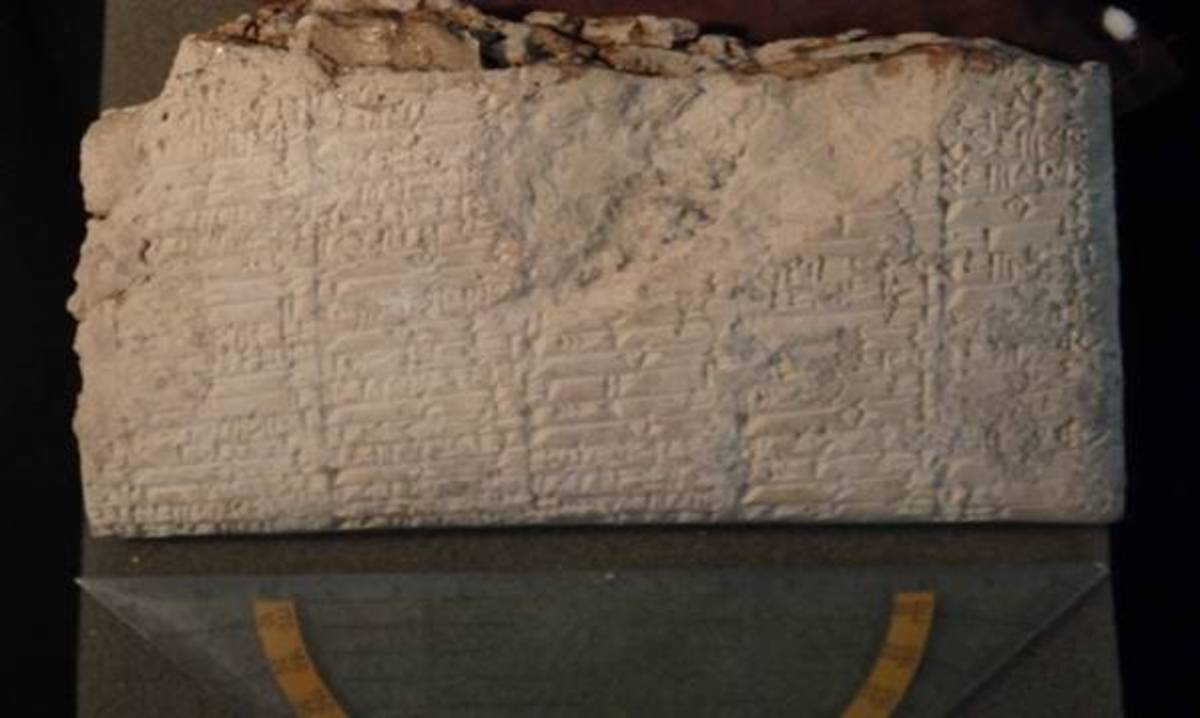 One of over 400 Sumerian tablets recovered during the Hobby Lobby scandal - and they hail from a lost city.