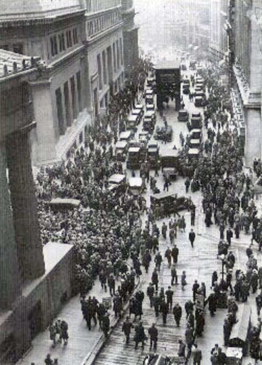 The New York Stock Market Crash was a global event, and although the depression's effects were not as bad in Japan, it was the principal driver behind the construction of the modern Japanese economy.