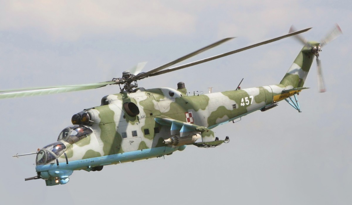 Mi - 24 Shown. Same as export version Mi - 35