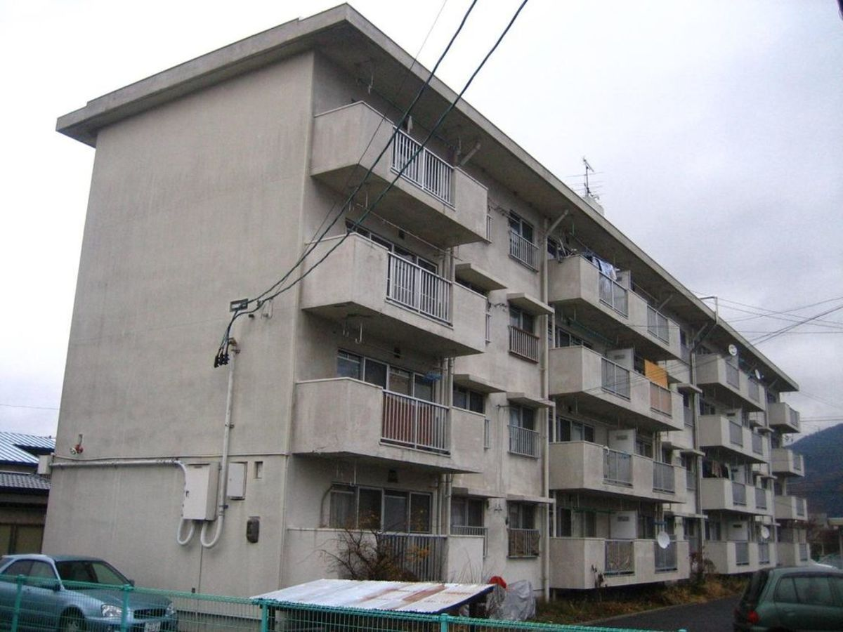Danchi, the post-war standard for modern housing, but relatively rapidly surpassed by the 1970s.