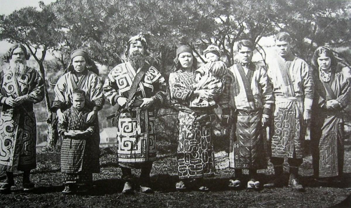 Ainus in 1904