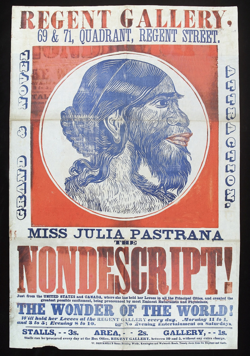 Julia Pastrana's Advertisement