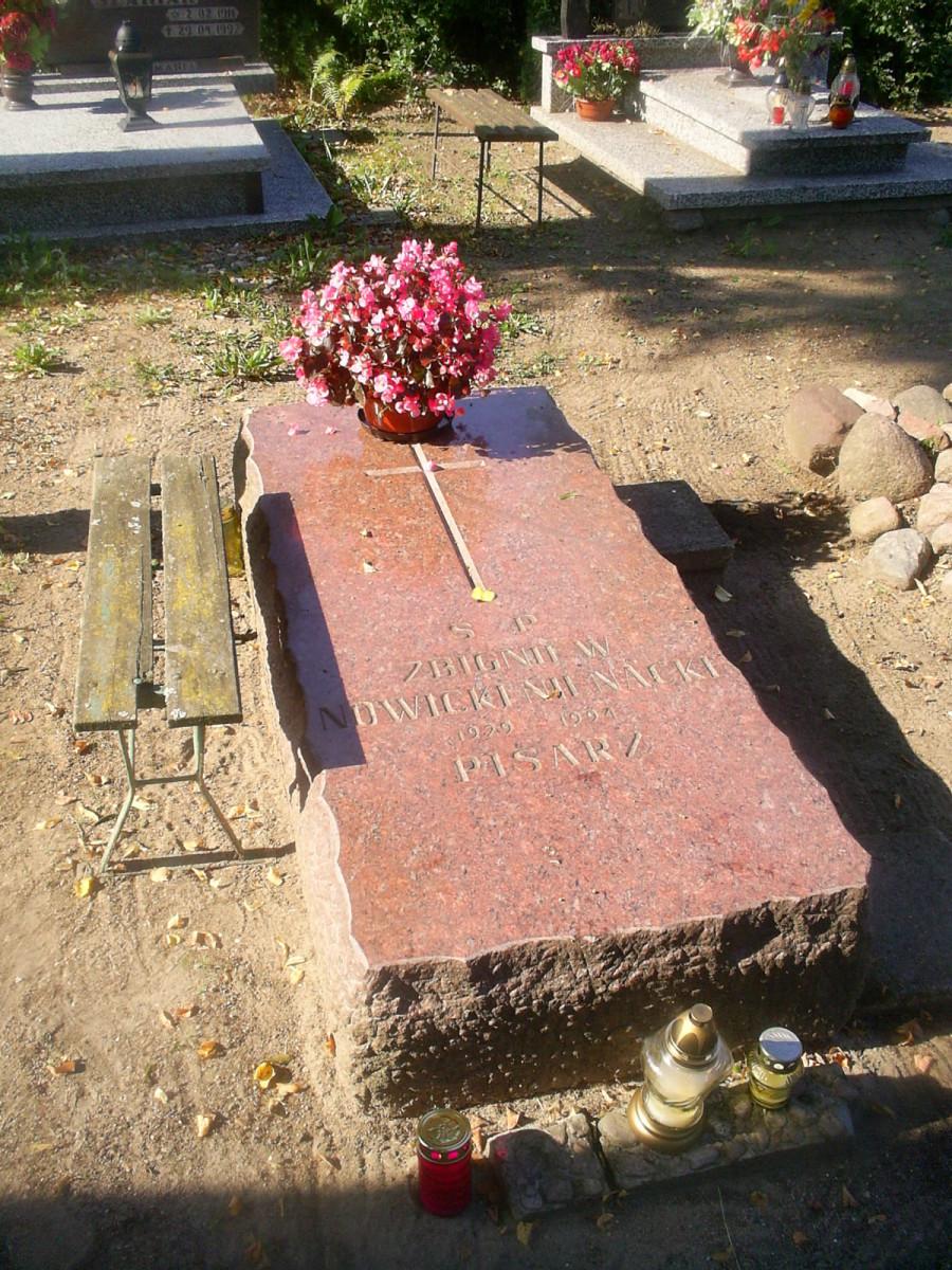 Zbigniew Nienacki's grave