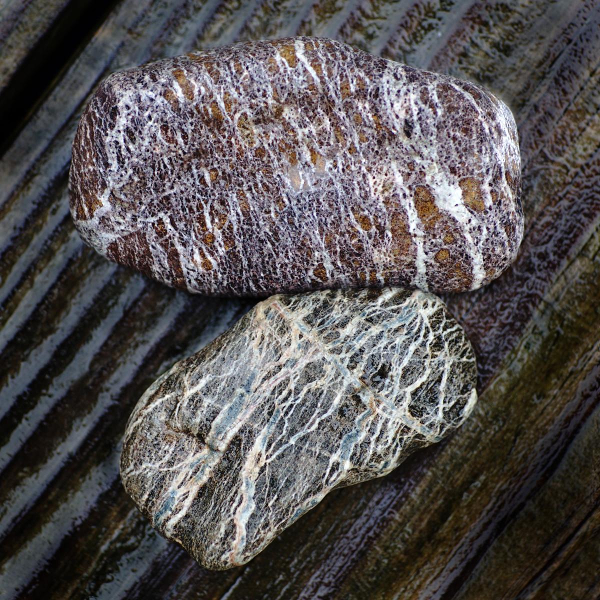 Presque Isle Beach Stones - Serpentinite