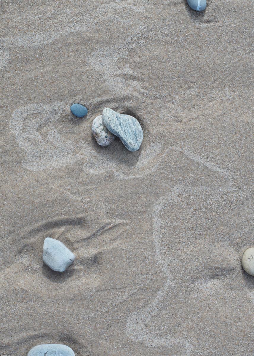 Remnants of Waves - Pier Cove Beach - Lake Michigan
