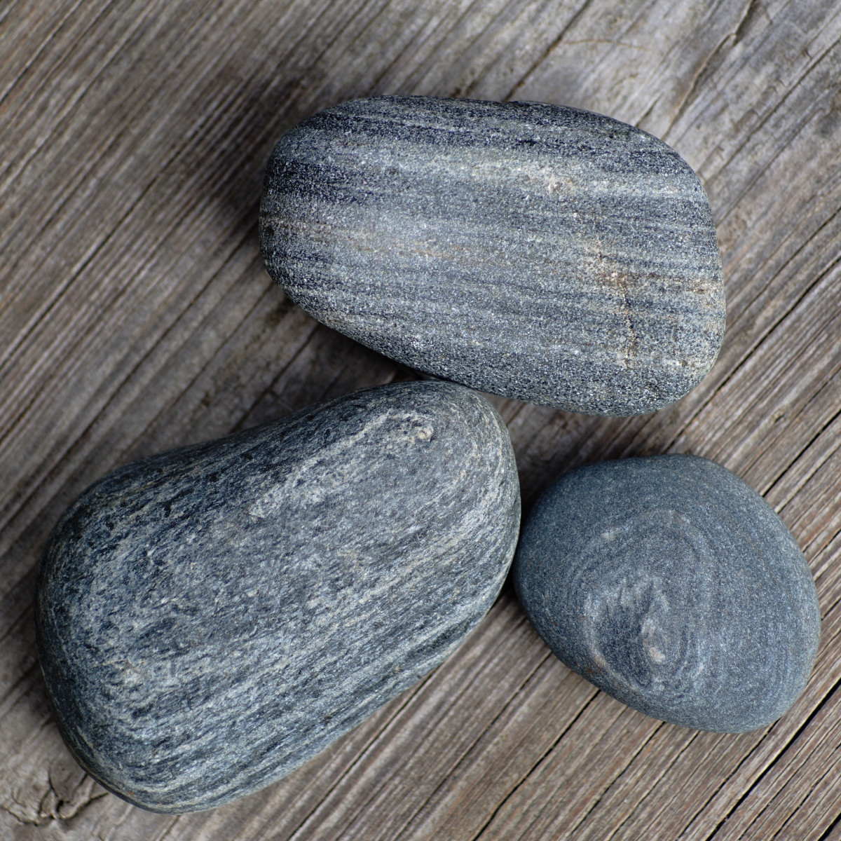 Metamorphic Slate- Lake Michigan Beach Stones