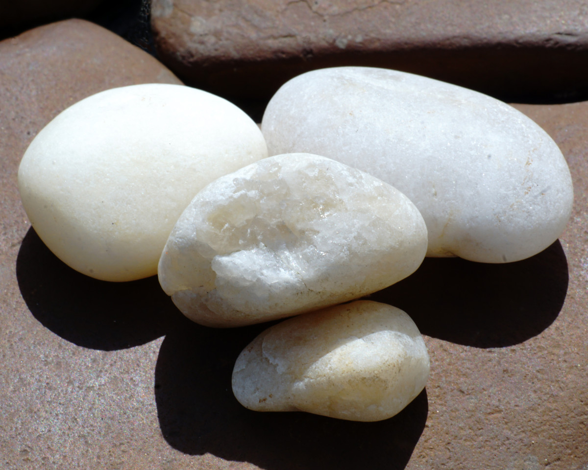 Milky Quartz - Lake Michigan Beach Stones