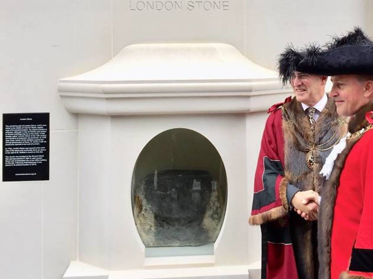 In October 2018, the London Stone returned to Cannon Street, this time in a home far more worthy of it.
