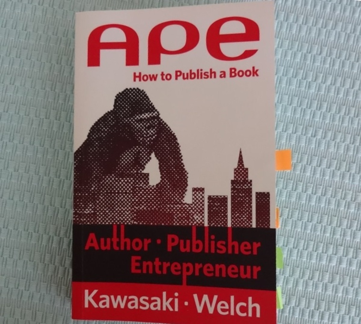 """APE"" or Author, Publisher, Entrepreneur is another modern guideline for writers"