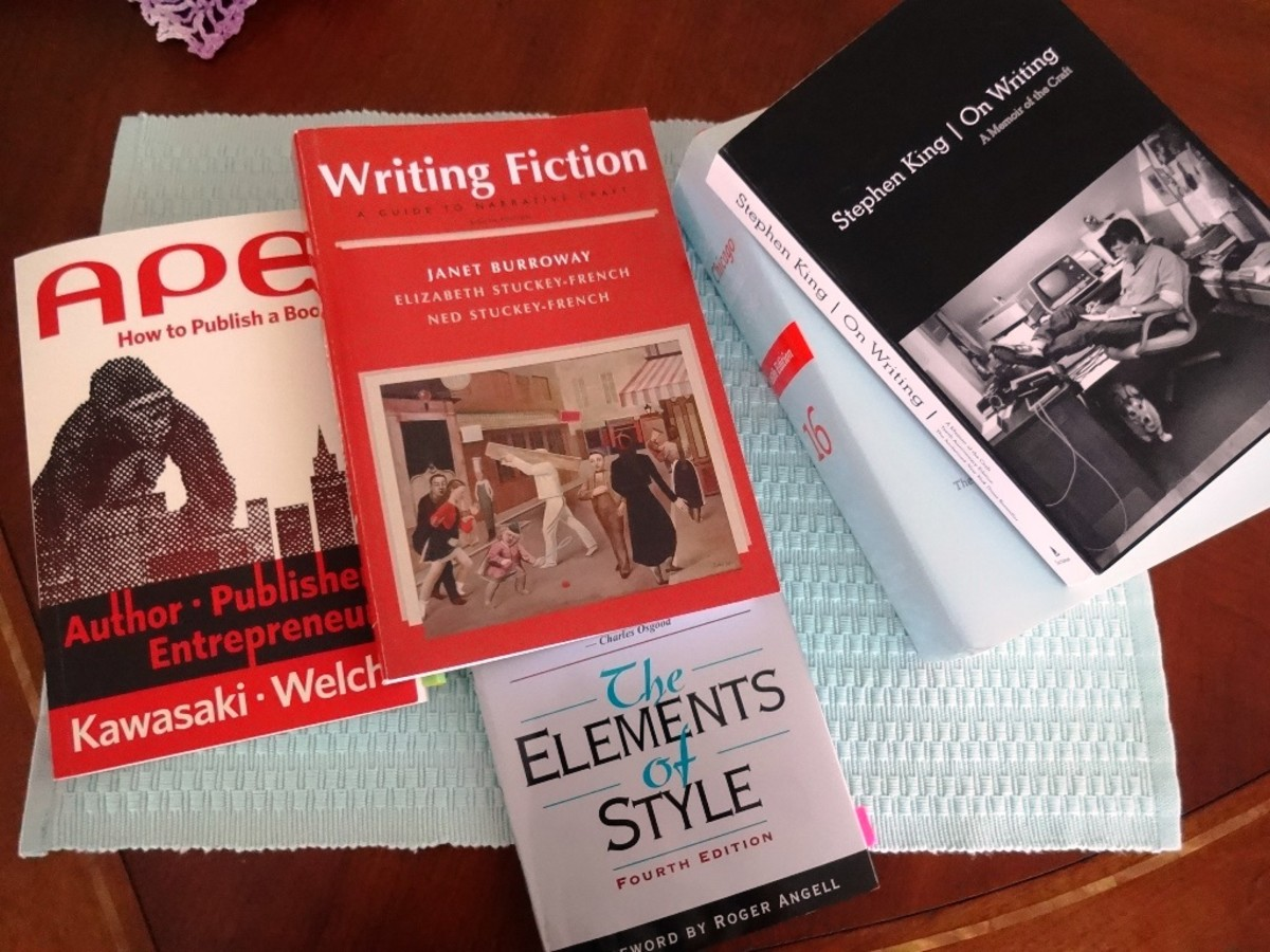 These books are a great starting place to learn more about how to set up a book.