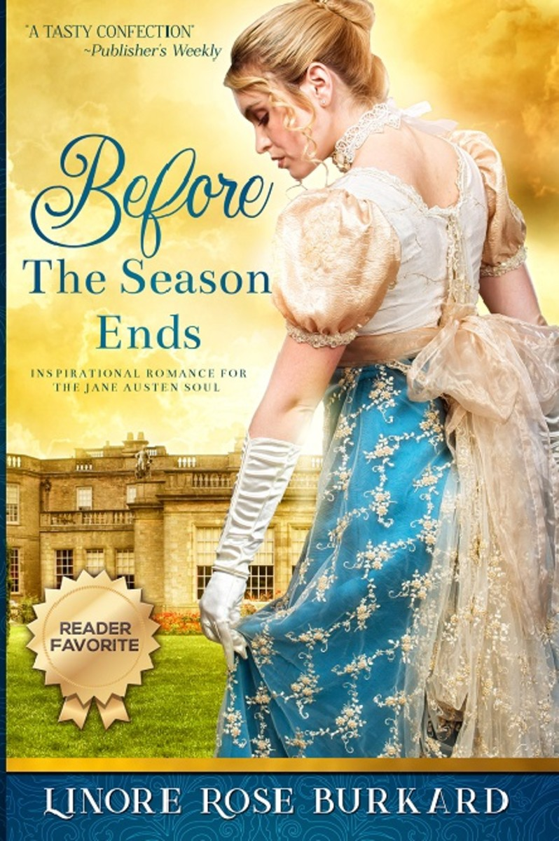 Cover of Linore Rose Burkard's novel Before The Season Ends.