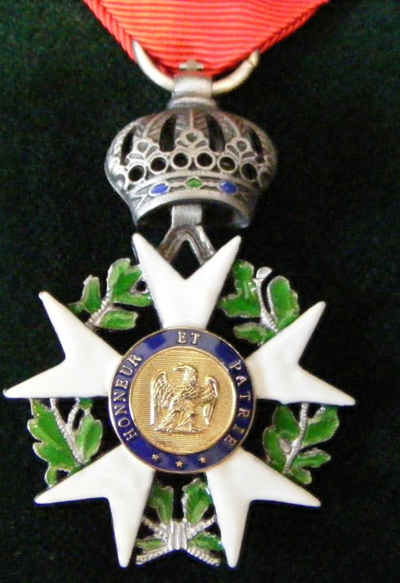 Wouldn't mind doing something nice for France myself if it netted me a Légion d'Honneur....