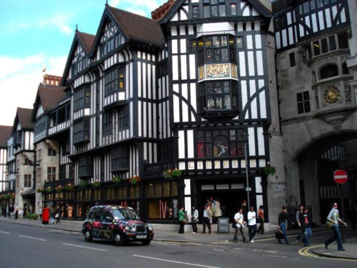 Liberty of London department store, corner of Great Marlborough Street and Regent Street