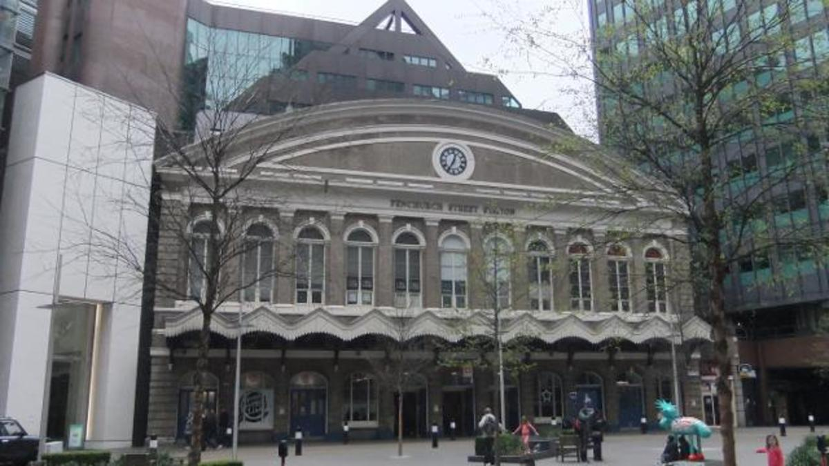 Fenchurch Street. The oldest and most aesthetic on the board