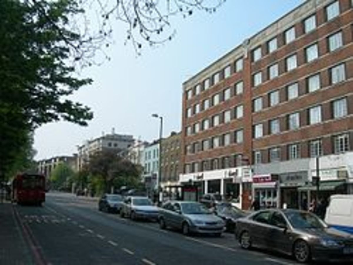 Flats and student accommodation, Pentonville Road.