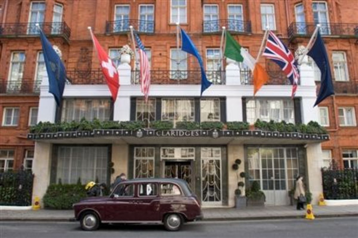 Claridges, Mayfair