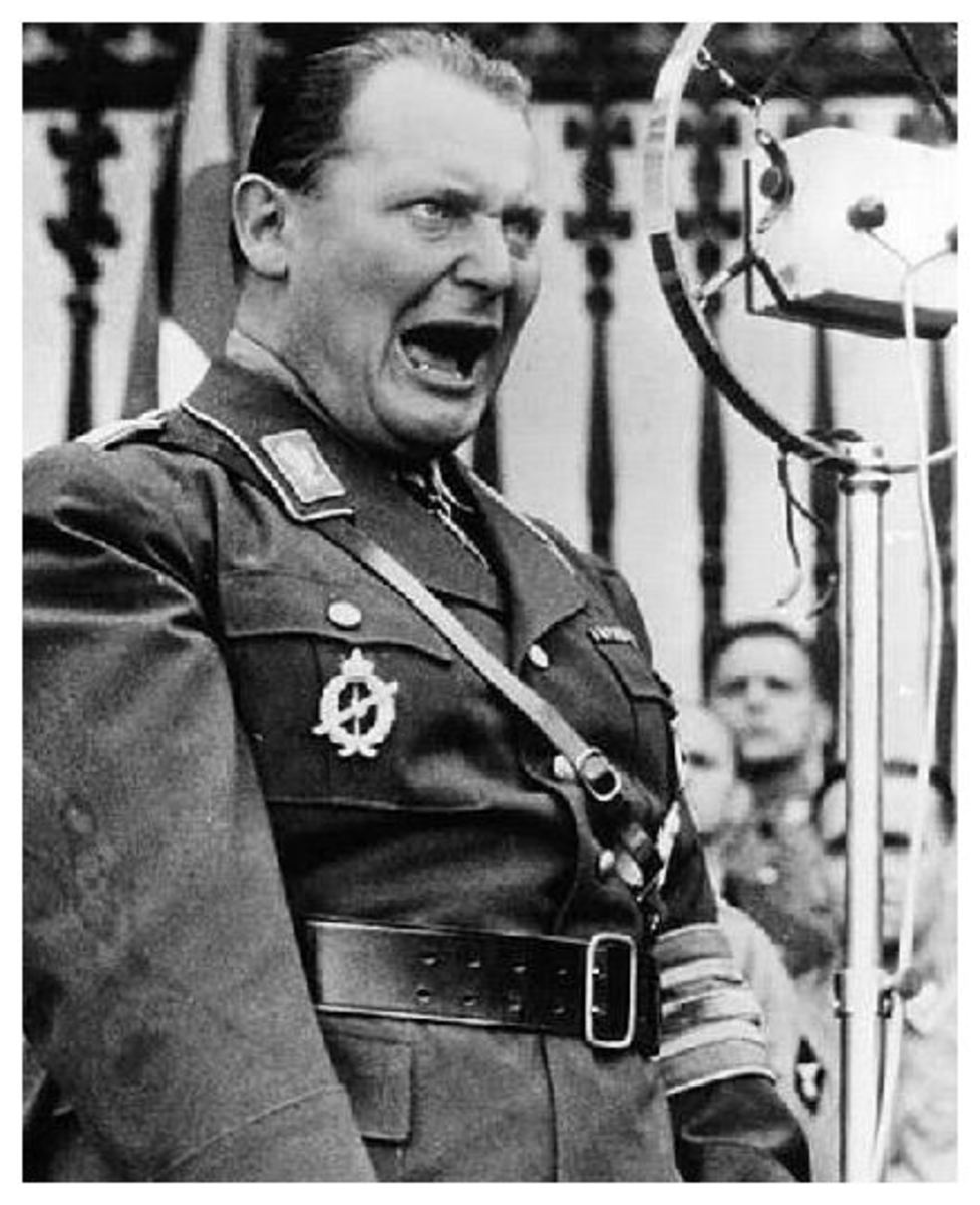Goering suffering cold turkey by the looks of it