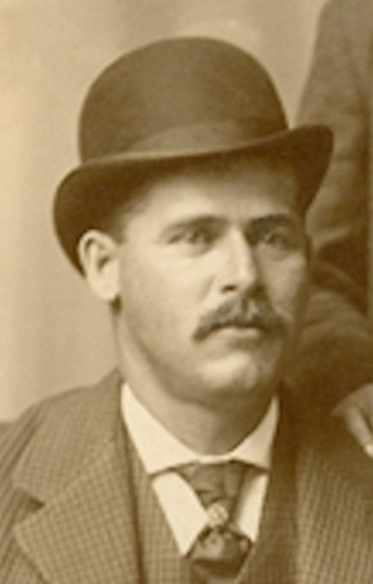 "Henry 'Sundance Kid' Longabaugh, one of the ""Wild Bunch."""