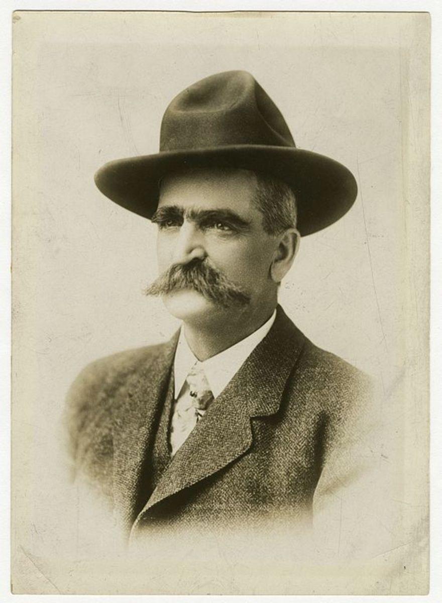 Seth Bullock in 1893.