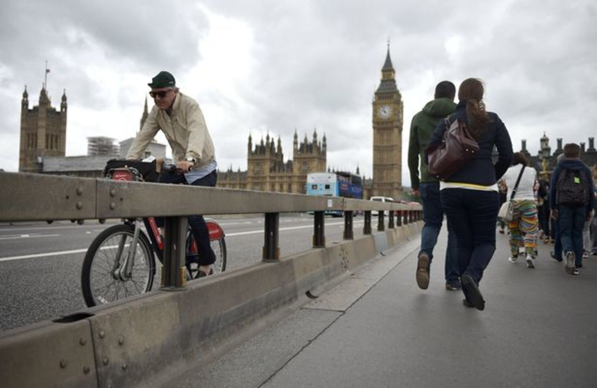 Barriers are now in place on all the road bridges in London after the 2017 Westminster Bridge terror attack