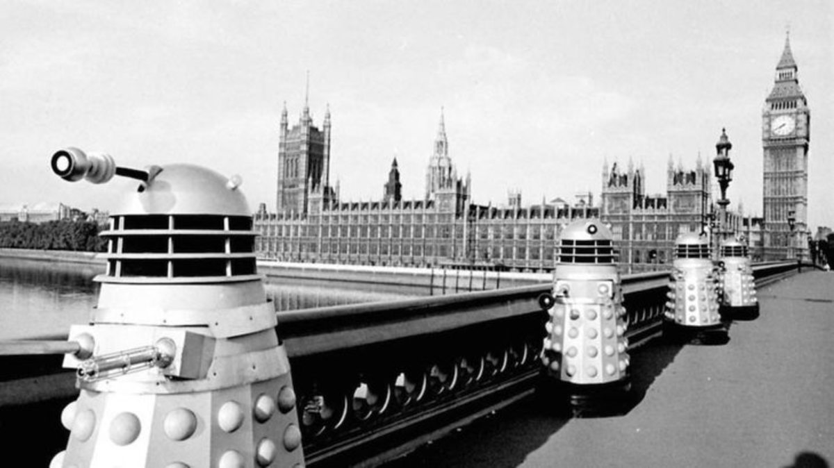 The daleks take over Westminster. Choose your own punchline.