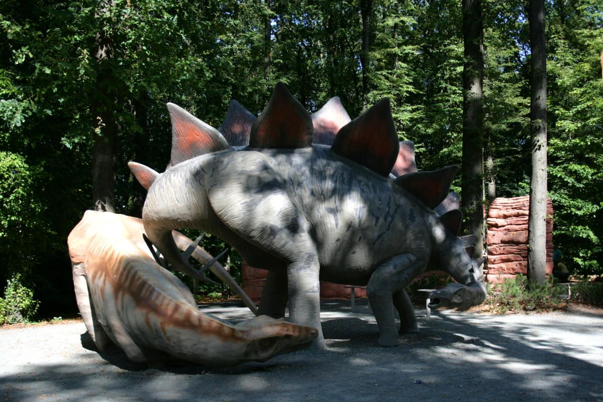 Saurierpark (Dinosaur Park) in Bautzen-Kleinwelka
