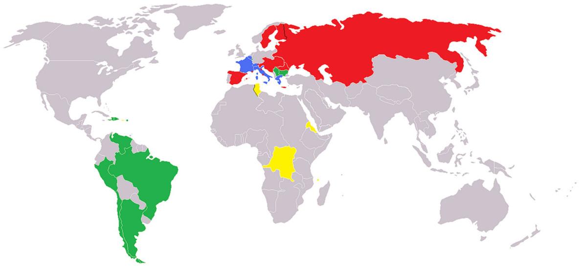Latin Monetary Union 1914