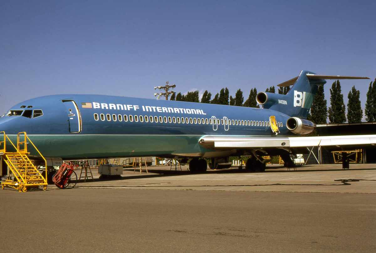 Brought into service, July 1972, this 727 was sold to American Airlines Jan. 1981. Photo by Piergiuliano Chesi