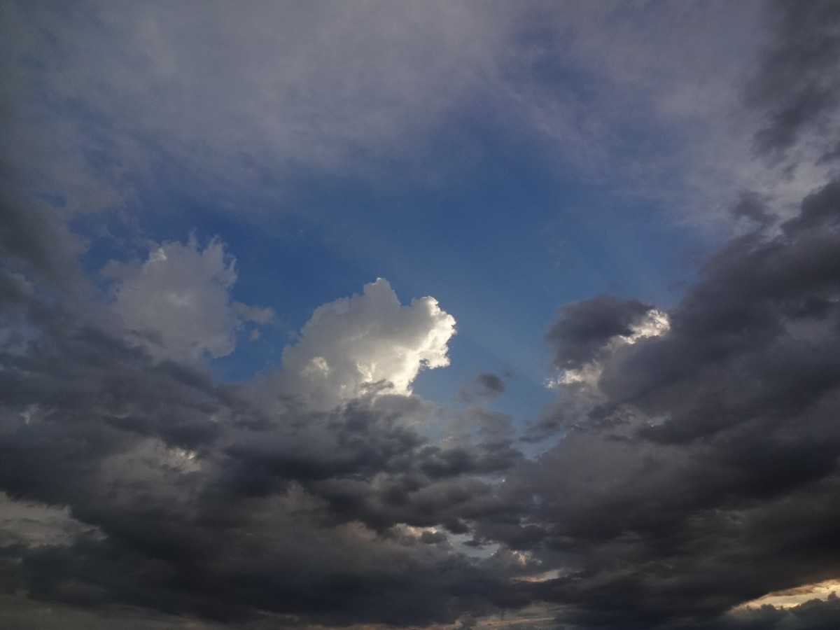 """""""I've looked at clouds from both sides now. . ."""""""