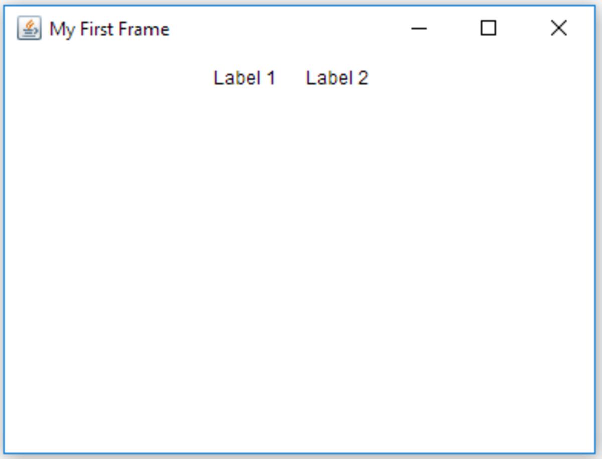 AWT Frame Example