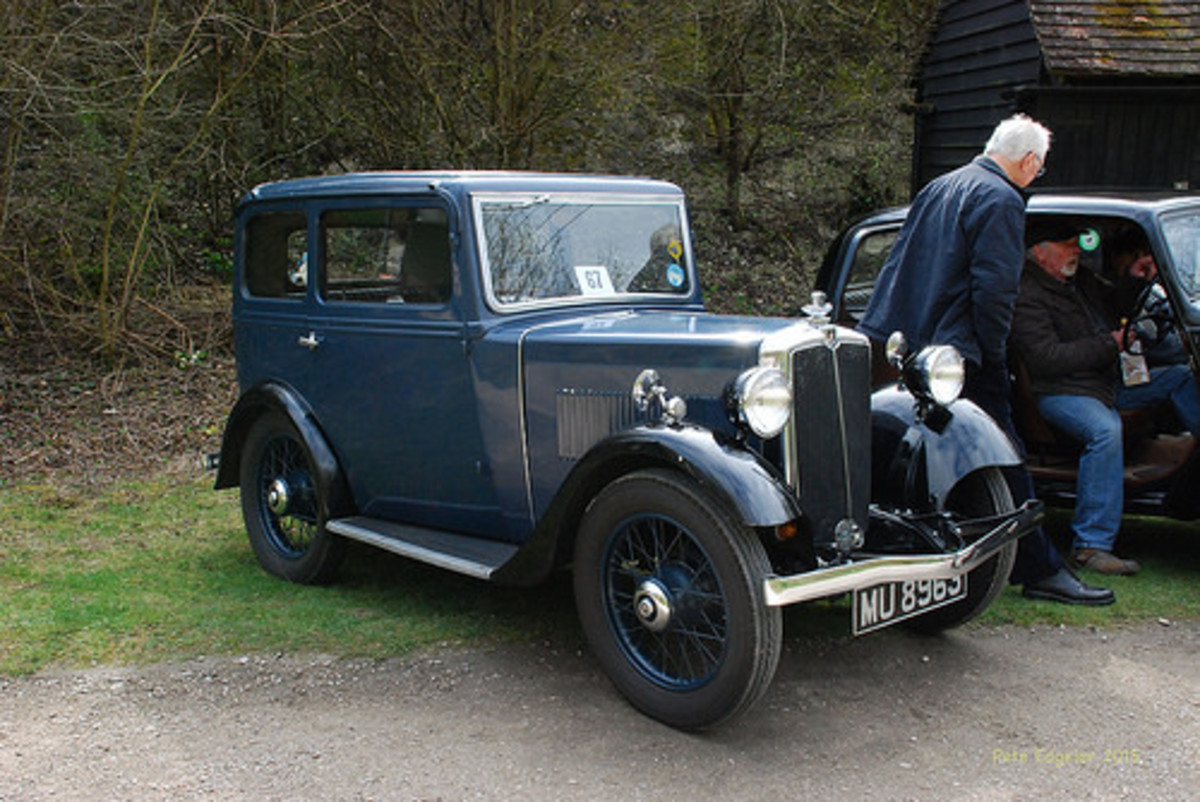 A 1934 Morris Minor.