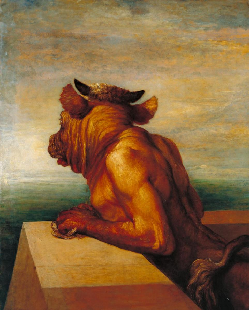 """The Minotaur"", by George Frederic Watts."