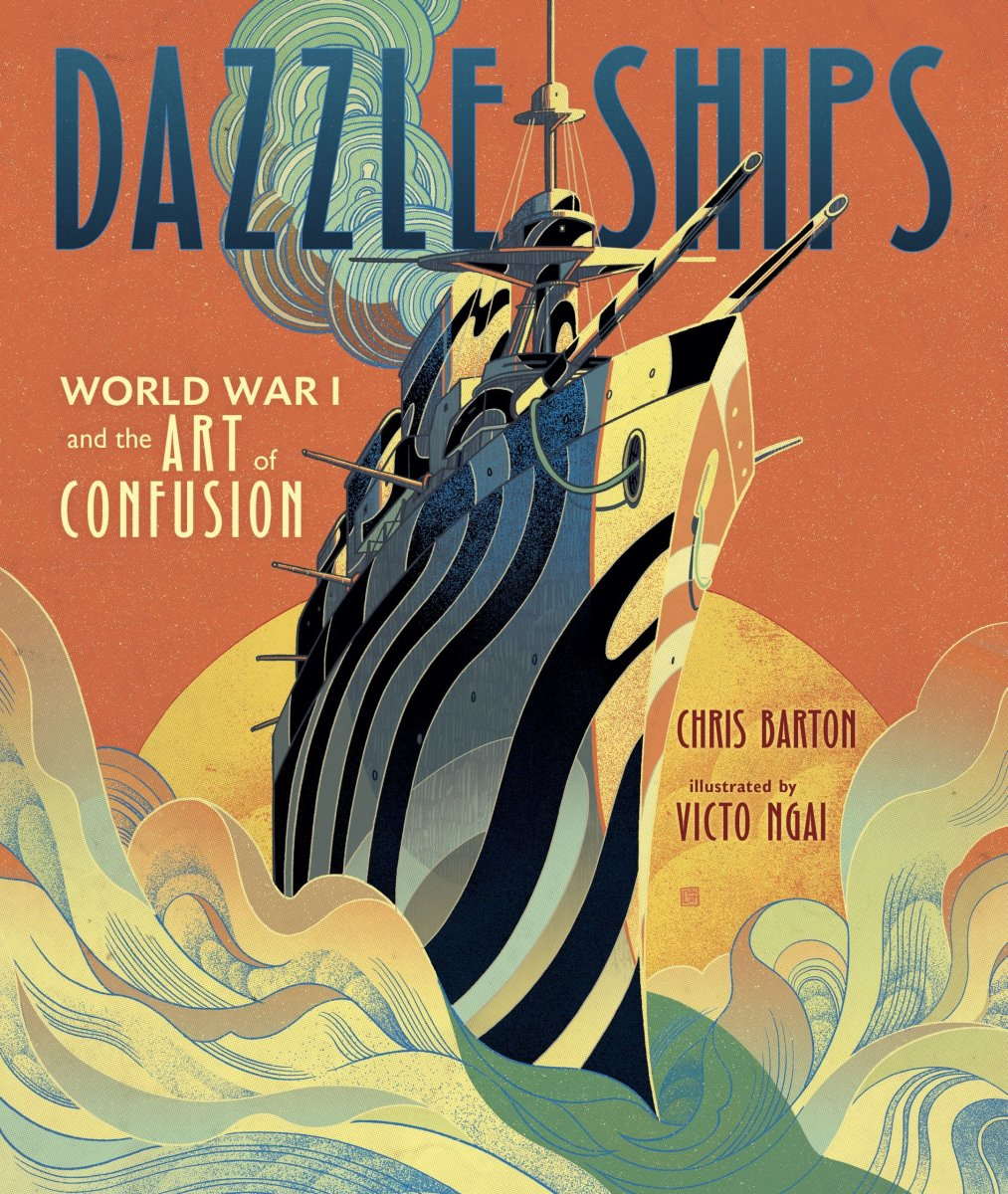 Dazzle Ships by Chris Barton
