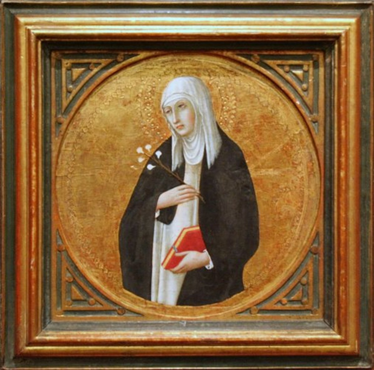 St. Catherine of Siena by Sano di Pietro