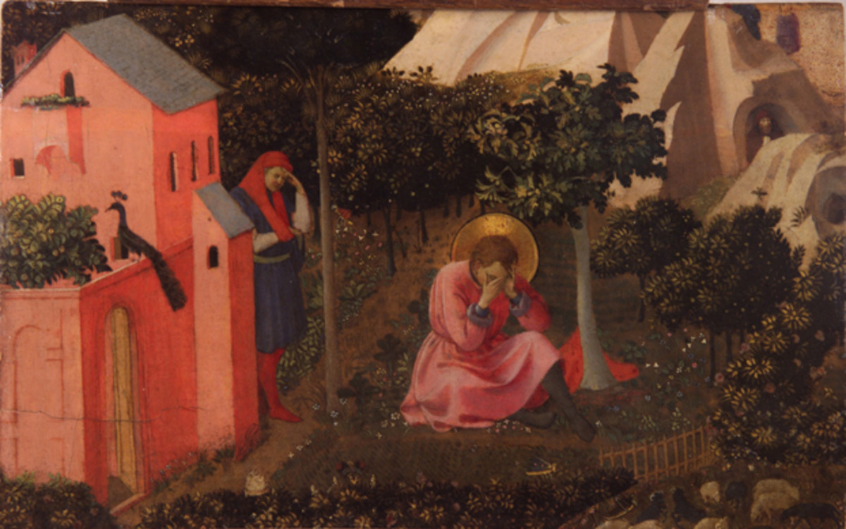The Conversion of St. Augustine by Blessed Fra Angelico