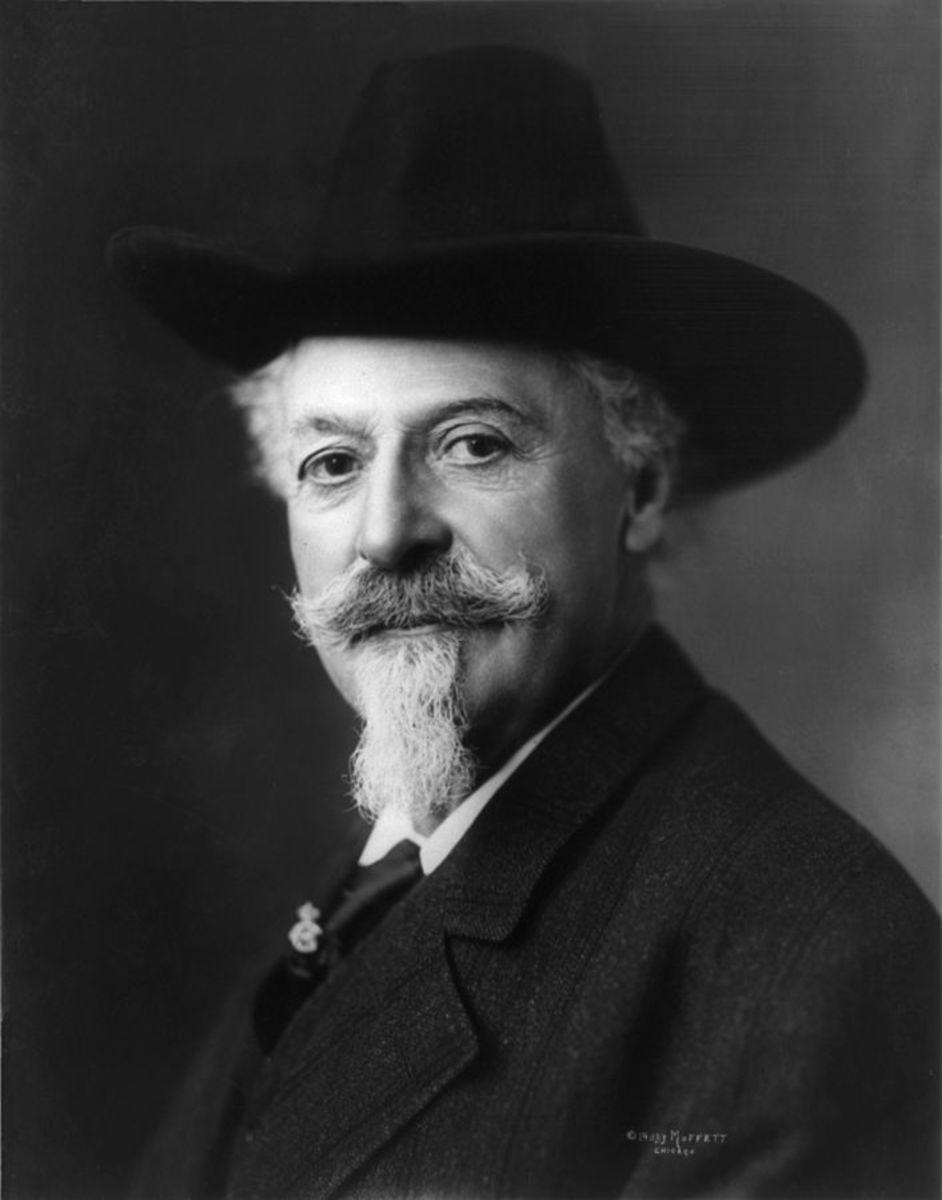 "1911 Portrait of William F. Cody ""Buffalo Bill"""