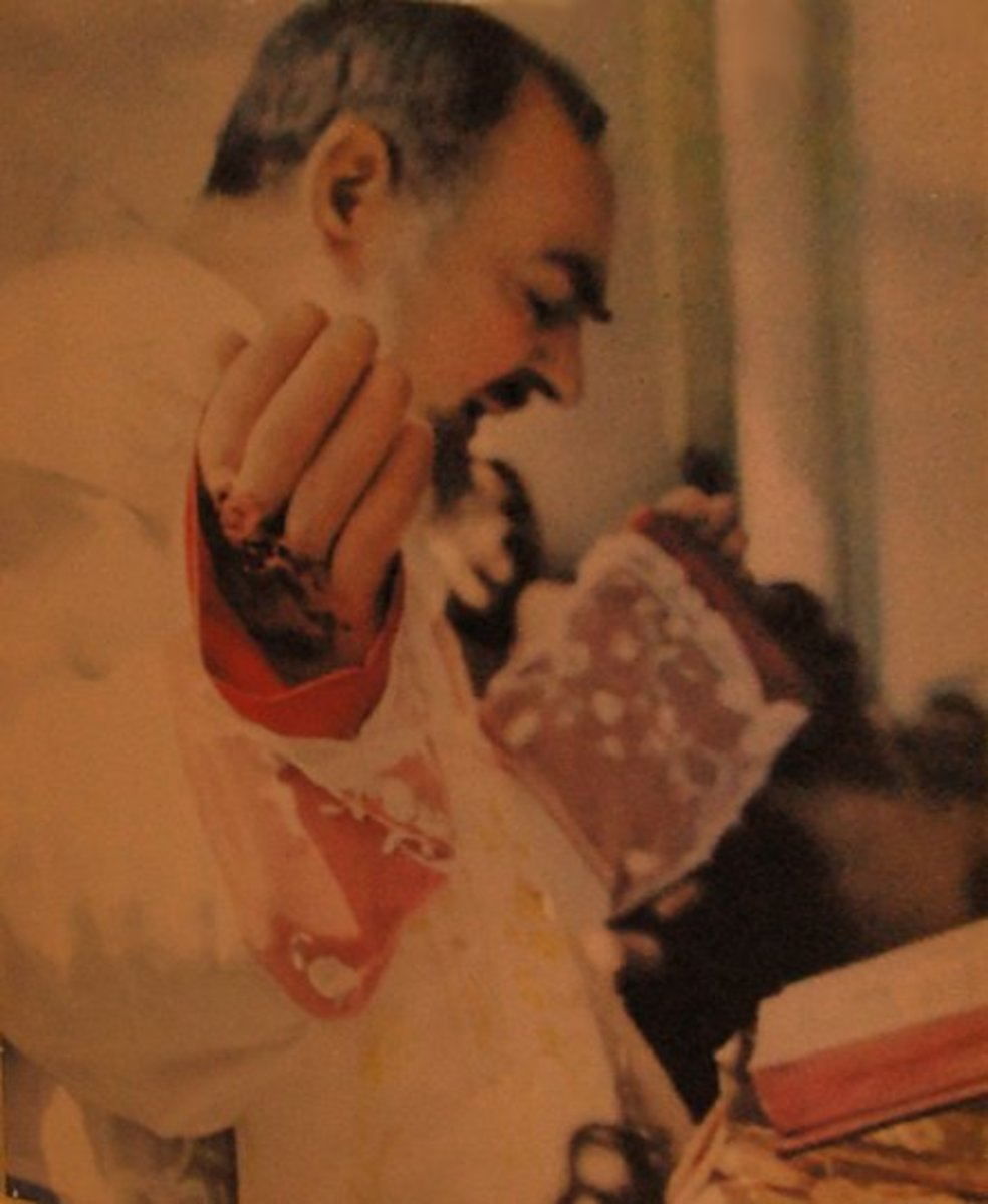 Because of the many people he prayed for, Padre Pio's Mass often lasted over two hours.