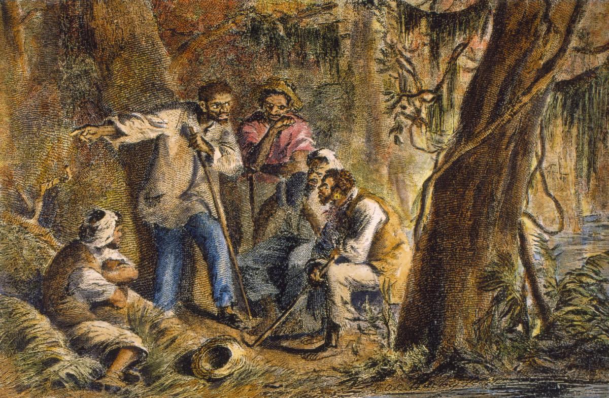Depiction of Nat Turner's Rebellion