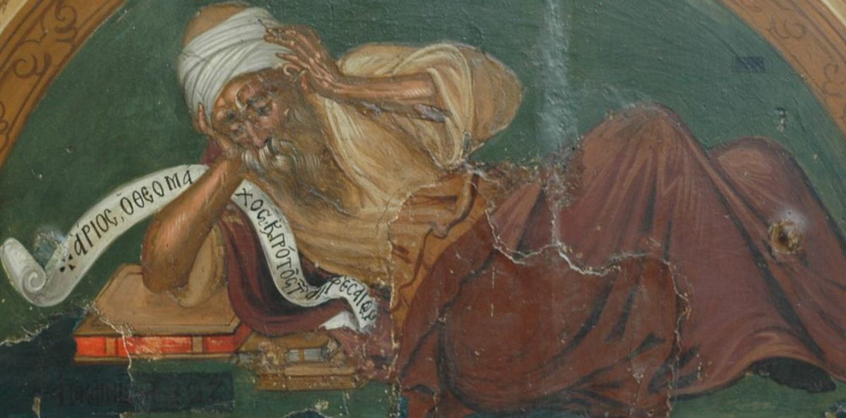 A Byzantine depiction of Arius