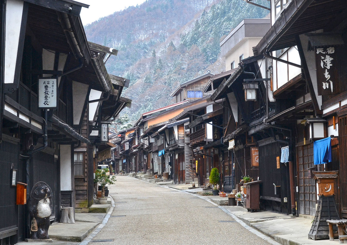 Today, the well-preserved postal town of Narai offers a glimpse into how cities were like during the Edo Period.