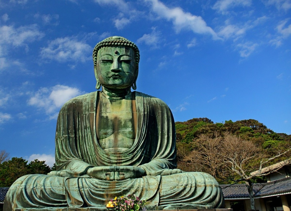 The famous Big Buddha of Kamakura was constructed during the Kamakura Period of Japanese history.