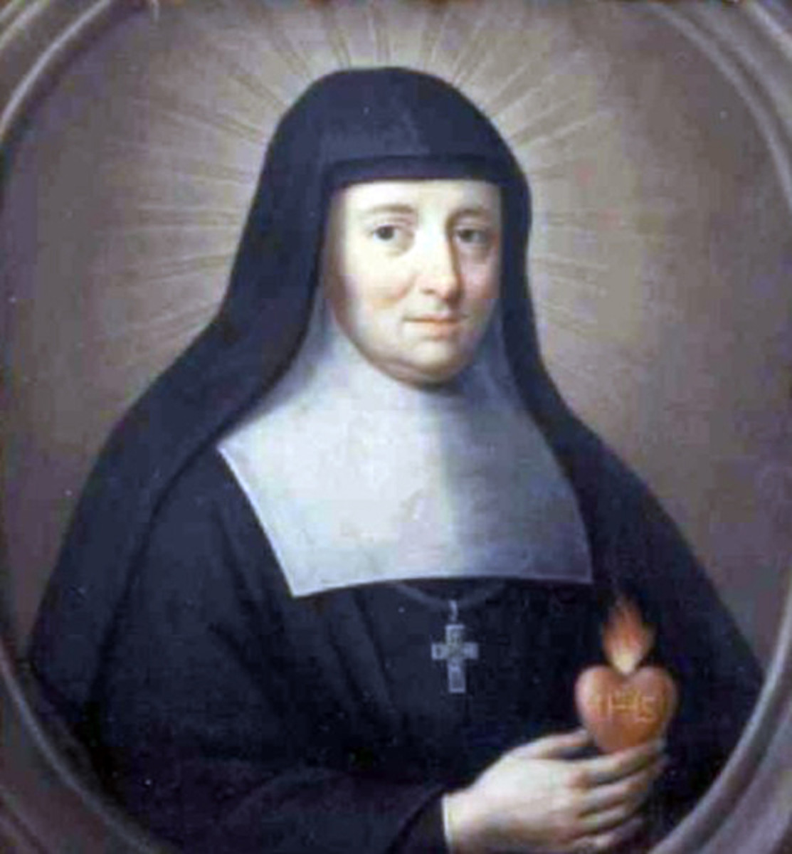 St Jane Frances de Chantal- wife, mother, foundress, mother superior