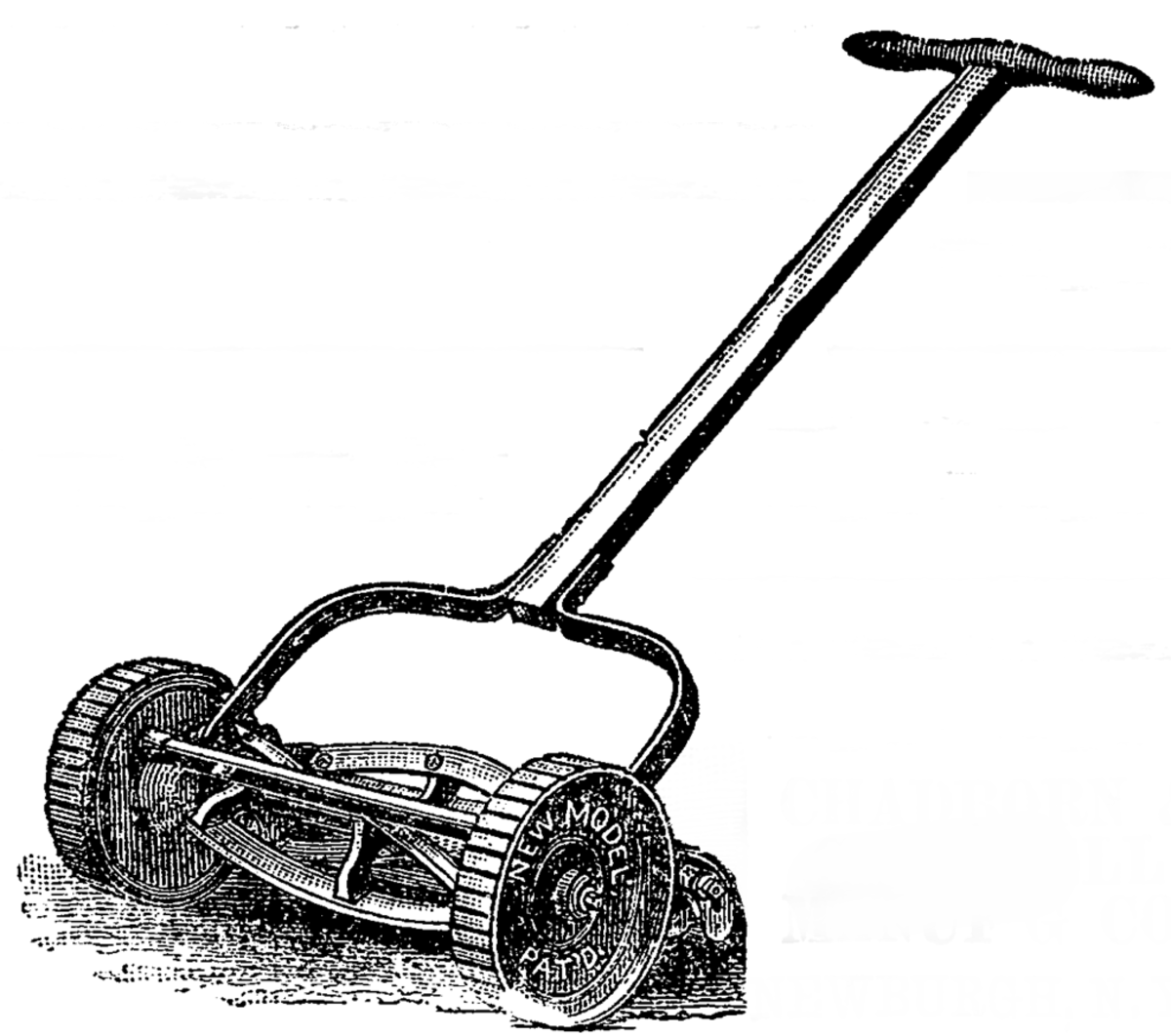 The reel mower has changed little since its invention.