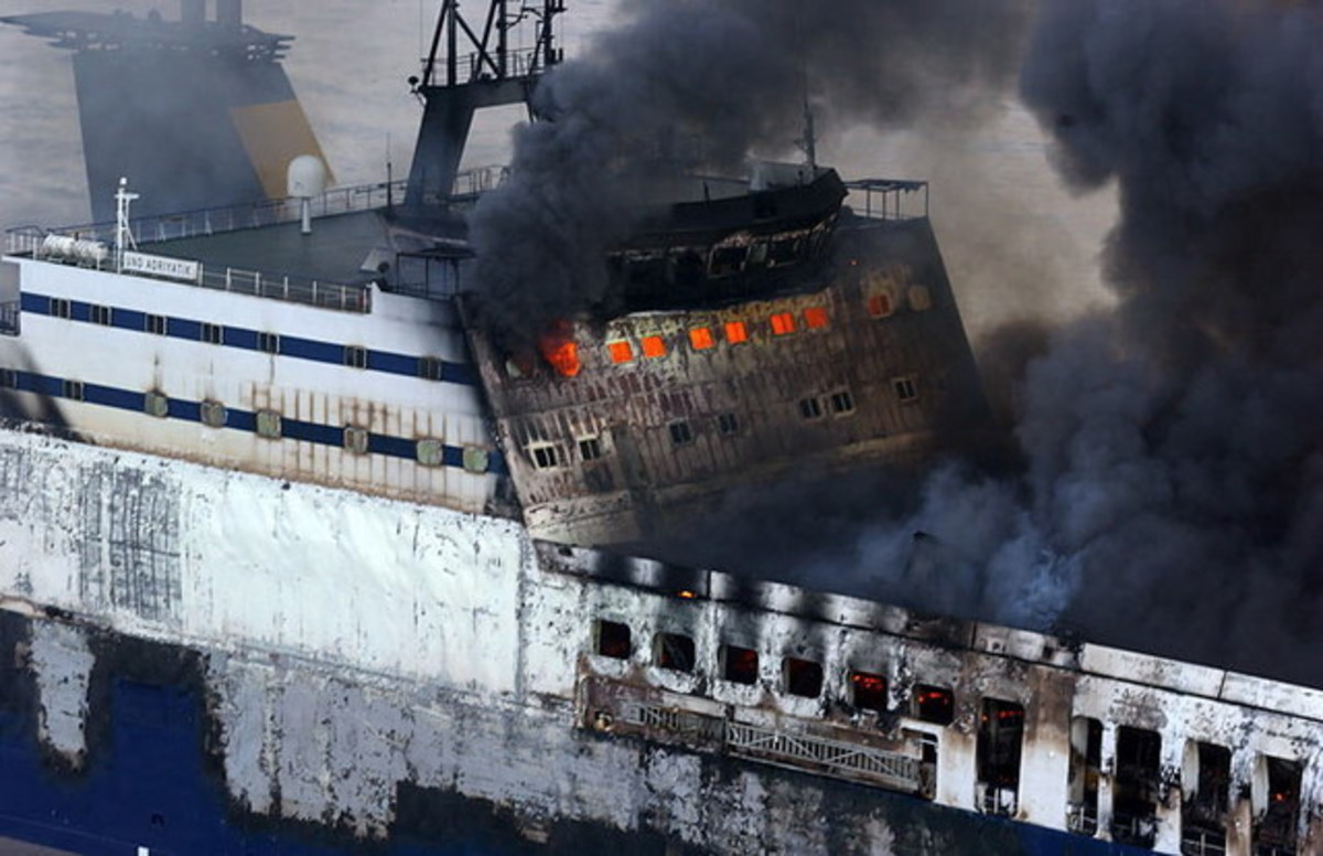 The MV Doña Paz went down in a fiery blaze after colliding with an oil tanker.