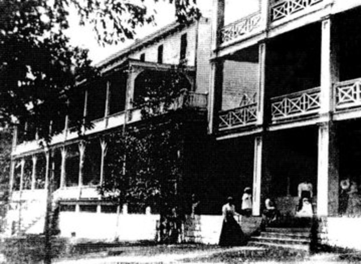 Cold Spring Hotel of Stony Valley, PA, c. 1850-1899